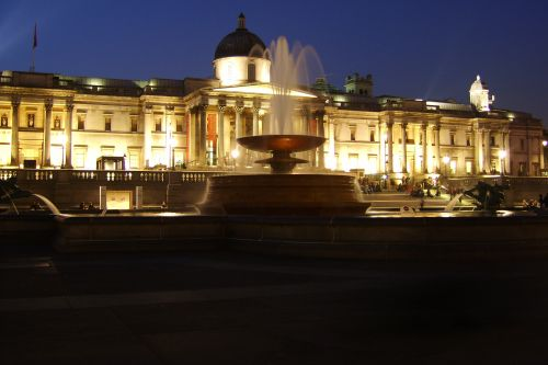 Trafalgar Square and National Gallery