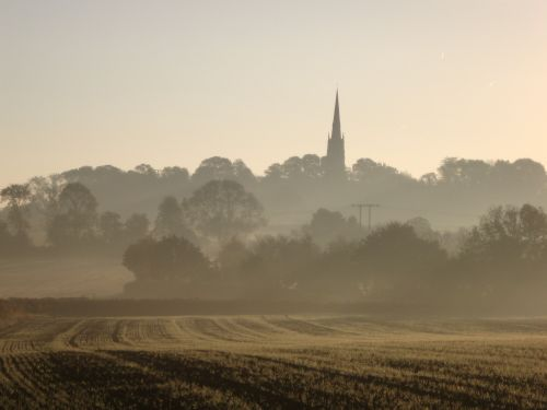 Sunrise over All Saints, Laughton en le Morthern