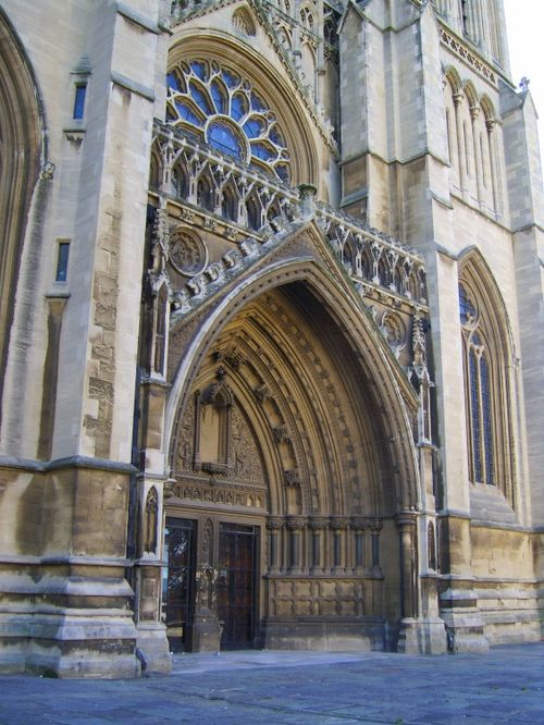 West Entrance of Bristol Cathedral