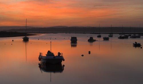 Sunrise at Keyhaven, Hampshire