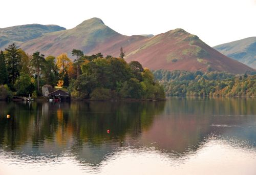 Derwentwater and Cat Bell, Cumbria