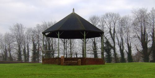 Bandstand at Langold Country Park, Nottinghamshire