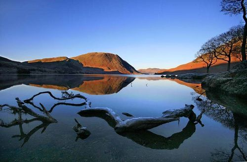 Dawn on the Lake, Cumbria