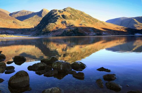Early Morning on Crummock Water