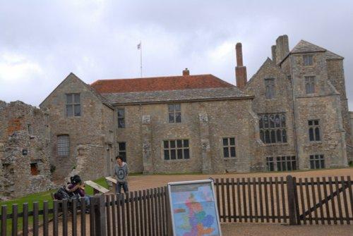 Carisbrooke Castle & Courtyard, IOW