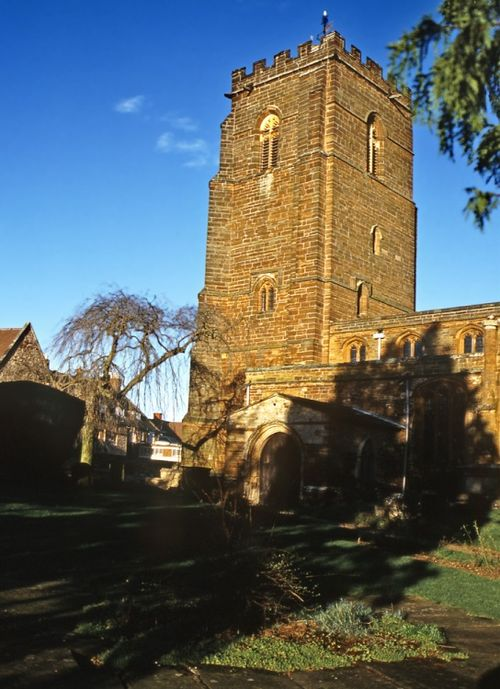 St Lawrence's Church, Towcester, Northamptonshire