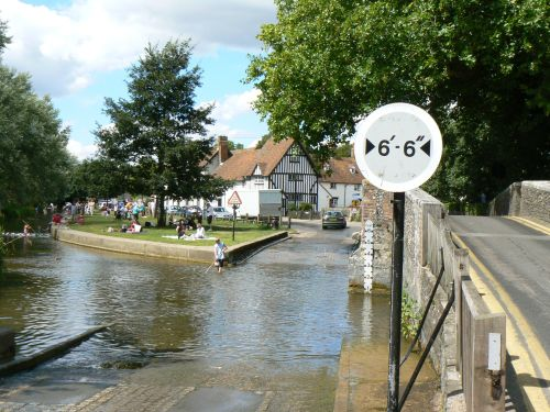 The Ford and Bridge, Eynsford