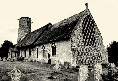 Church at Barsham, Suffolk