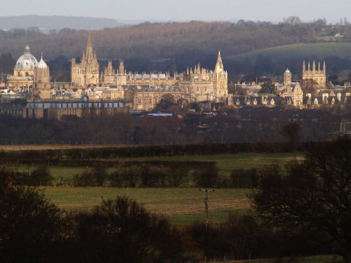 Oxford, from Boars' Hill
