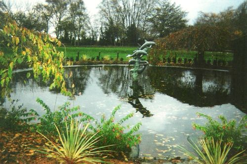 Dolphin Pond, Twycross Zoo, Leicestershire