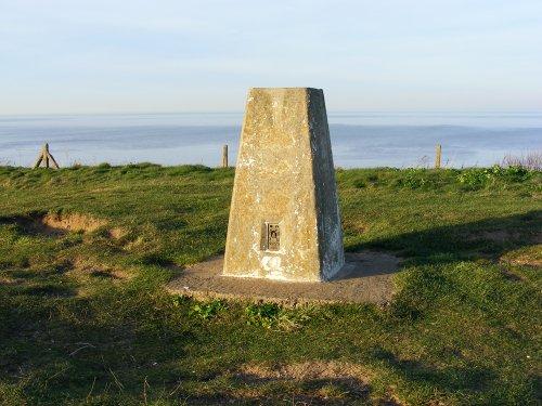 The top of Beeston Hill, Sheringham, Norfolk