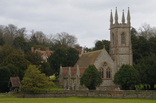 Chawton,  Hampshire - St Nicholas Church