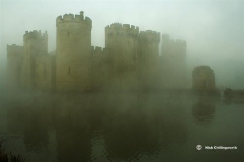 Rising Through The Mist, Bodiam Castle, Robertsbridge, East Sussex