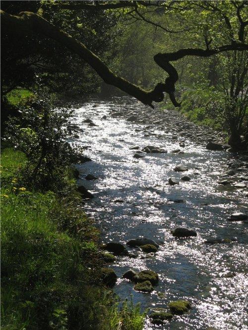River at Glenridding, Ullswater, Cumbria.