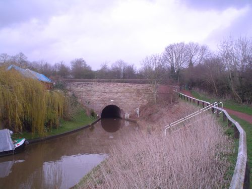 Tunnel at Tardebigge, Worcestershire