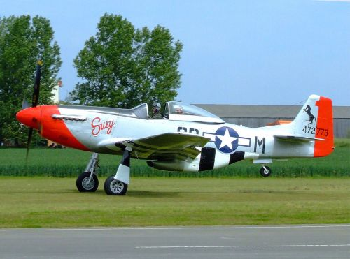 P-51 Mustang, The Real Aeroplane Museum, East Riding of Yorkshire
