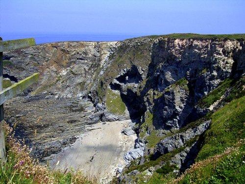 Coastline near Portreath, Cornwall