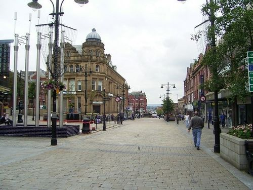 High Street, Oldham, Greater Manchester