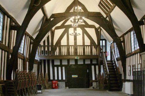 Leicester Guildhall great hall