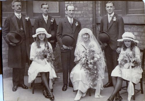 The Wedding Circa 1923