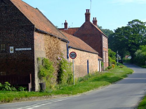 One of the lanes in Bishop Burton