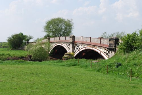 Bridge over the river Tame