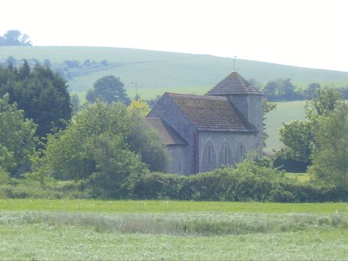 Downland church