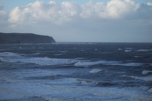 Rolling Waves of the North Sea