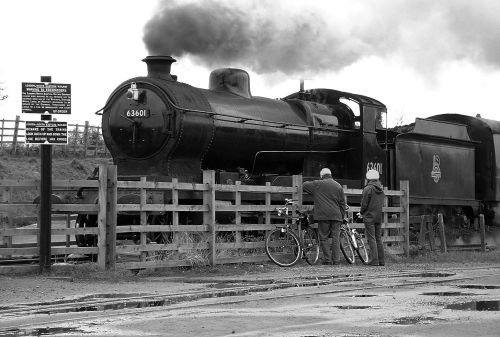 Train at Quorn, Great Central Railway.