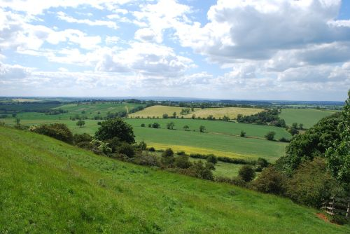 The view from Burrough Hill