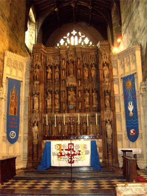 (The Altar St Nicholas Cathedral Newcastle Upon Tyne)