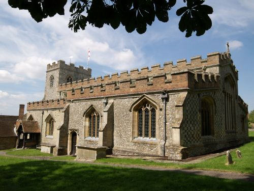 Church of St Mary the Virgin, Ewelme, Oxon.