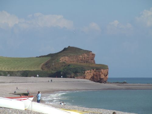 The Beach at Budleigh Salterton