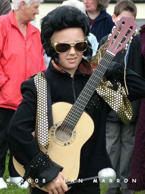 Byers Green Village Carnival 2008 - Elvis the King