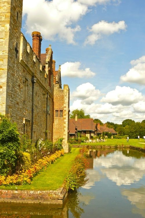 Hever Castle Moat By Mariagrazia At