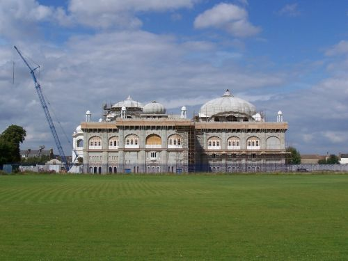 Sikh Temple nearing completion