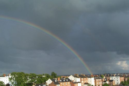 Rainbow over Royal Leamington Spa