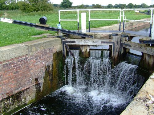 Thornton lock, Pocklington Canal