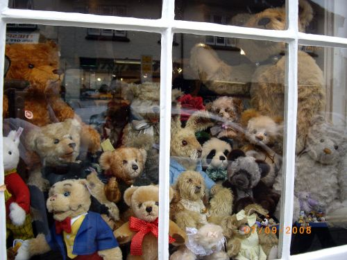 Teddy Bear Shop at Stratford