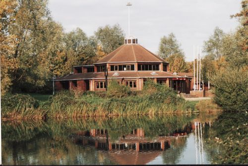 The Beacon at Mount Farm lake