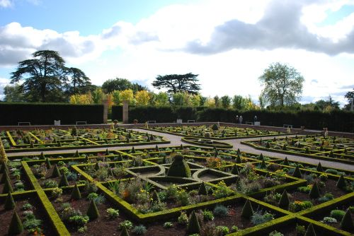 The garden at Hanbury Hall