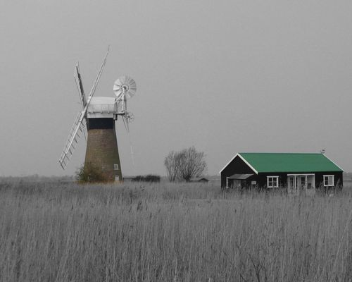 Wind pump near Wroxham