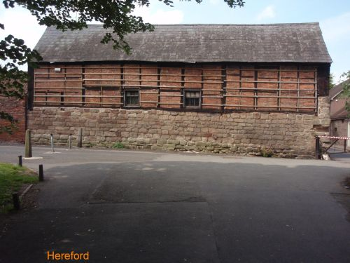 Ancient Barn, Hereford