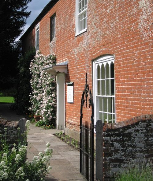 The side entrance of Jane Austen's house, Chawton