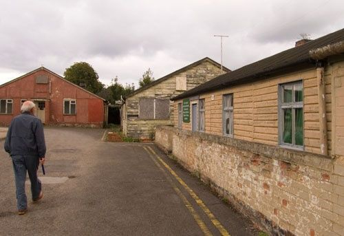 Huts 3, 6, and 1 at Bletchley Park