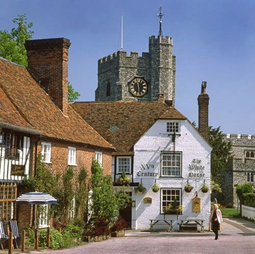 The Square at Chilham Kent