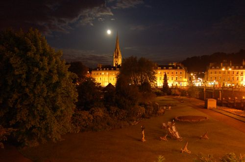Bath by Moonlight
