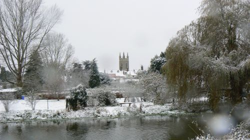 St Mary's Church and Bungay town