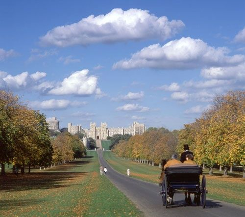 The Long Walk, Windsor Castle