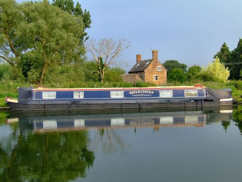 An appropriate name for the narrowboat